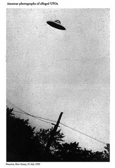 Ufo.  i definitely believe in life on other planets. i think it's more ridiculous to think we are the only planet with intelligent life in an infinite and forever expanding universe.