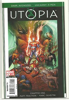 Great collection of all eight UTOPIA Volumes from Marvel! ~NEW~  http://r.ebay.com/PLGy7d