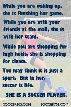 Great soccer tips. There are a variety of football tips that you can learn and implement to help you play far better in the game. Even if you are a beginner player, you possibly can attain great abilities by doing your best to master new tips. Soccer Memes, Soccer Tips, Soccer Sayings, Soccer Girl Quotes, Sports Memes, Funny Soccer, Quotes Girls, Quotes About Soccer, Softball Quotes