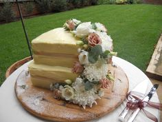 Our Country Style Carrot Wedding Cake. Perfect for that Midlands special day!