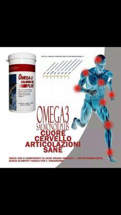 Ecco la famiglia completa degli acidi grassi Omega-3