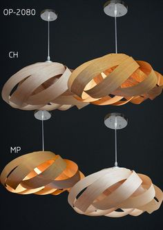 Beautiful NEST lightpendant lamp for dining room and by oaklamp