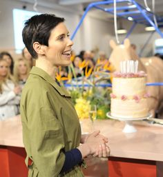 Karen Walker at her birthday party of Newmarket Auckland store on Thread Homepage for NZ Fashion, Beauty, Style, Culture and Party World, 20th Birthday, Karen Walker, Party Fashion, Beauty Style, Fashion Beauty, Retail, Model