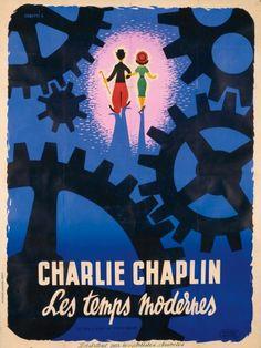 "Modern Times. Charles Chaplin, 1921  ""One of Chaplin's greatest achievements"""
