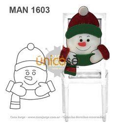 85e4ce499 10 mejores imágenes de Sillas | Christmas crafts, Christmas Decor y ...