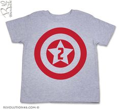 Second Birthday Tshirt for your 2 year old by REVOLUTION46R46, $16.00