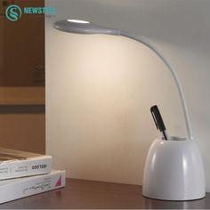 Desk Lamps Hot Mini-container Flexible Bright Led Table Lamp Usb Light Book Reading Multi-function Lamp Pen Holder Lamp Study Desk Lamp