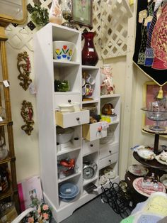 9am-9pm-602-942-0030-booth 76    What Not Shelves Knick Knacks Curio Shelf with drawers..Booth 76 - $149.00  Brass Armadillo Antique Mall,40,000 sq. ft. Mall.  Antique and Collectibles.  12419 N. 28th dr (West of I-17, North of Cactus)   Phoenix, AZ .85029    (602) 942-0030    (888)942-0030 -Cash or Credit Cards accepted.   9am-9pm  7 days a week