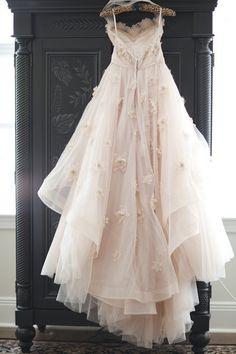 Absolutely gorgeous!! BLUSH WEDDING DRESS