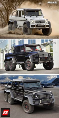 2015 Mercedes-Benz G63 AMG 6x6 (original)