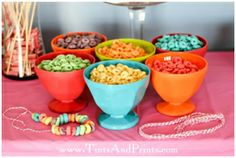 rainbow food containers