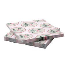 IKEA - FÖRSTÅELIG, Tovagliolo di carta, I tovaglioli hanno una buona capacità di assorbimento perché sono costituiti da tre strati di carta.