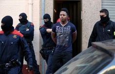 21 members of a Nigerian criminal organisation arrested in a raid by Barcelona Police for forcin...