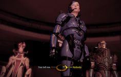 My in-game Mass Effect 2 Garrus and Female Shepard (Femshep) in Illium by dinglouisa