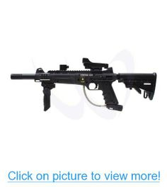 Tippmann US Army Carver One Paintball Gun with Red dot Reflex Sight Carbine Stock