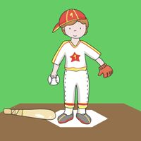 ex. 2, use with 'sports kids' clip art located in this section.