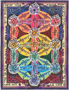 Kosmic Kabbalah Art by David Friedman