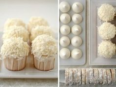 Hope you enjoy my entries, let's see how much fun I can have with this. Coconut Dream, Coconut Cupcakes, Fancy Cakes, Cake Cookies, Sweet Treats, Good Food, Sweets, Baking, Desserts