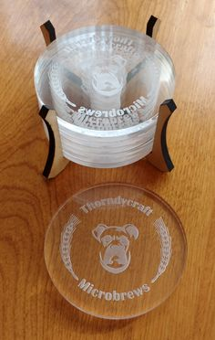 Beta Project: Coasters for a home-brewer - Project Inspiration - Glowforge Owners Forum