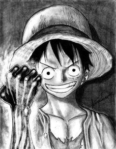 Luffy - One Piece by ~juannando12 on deviantART