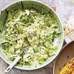 Raw broccoli is made for slaw. It's sweet and crunchy—and can be dressed hours in advance.