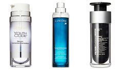 Pigment-Correcting: L'Oréal  When it comes to fading dark spots, this serum is on top. L'Oréal Paris Youth Code Dark Spot Serum, $25; drugstores Smoothing: Lancôme This one's number one at improving skin texture. Lancôme Visionnaire, $69; lancome-usa.com Firming: Peter Thomas Roth  This top pick helps tighten at the jawline. Peter Thomas Roth Firmx, $150; Sephora
