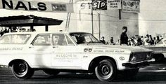 NHRA A/SA 1966 National Record Holder. The Plymouth was tuned by Arlen Vanke and driven by Bill Abraham.