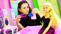 Игры для девочек одевалки: Барби не знает что надеть в театр. Хорошие ма...