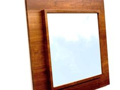 Modern Wall Square Mirror Art Decor Home Decor  by DLdesignworks, $320.00