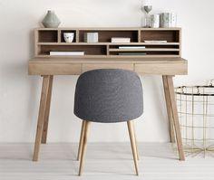 Hübsch interiör - Riktigt häftigt skrivbord!