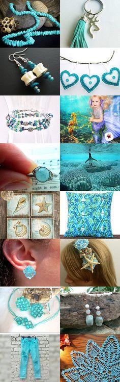 Aquamarine by Karina Scott on Etsy--Pinned with TreasuryPin.com
