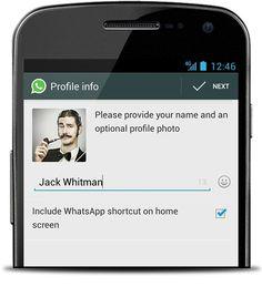 How To Configure My Profile - WhatsApp