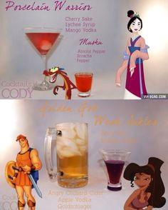Bebidas temáticas