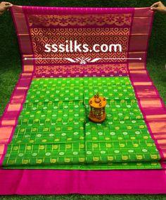 Indian Handloom Sarees and Silks Kuppadam Pattu Sarees, Handloom Saree, Picnic Blanket, Outdoor Blanket, Pure Silk Sarees, Different Patterns, Contrast, Weaving, Colours