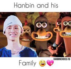 Hanbin's Family lol | IKON