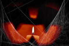 Jack O Cobwebs Copyright © Helene Iracane  #halloween #jackolantern #citrouille #cobwebs #pumpkin #bougie #candle #flame #spiders
