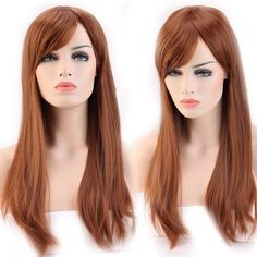 USA-Cheap-Sale-100-Synthetic-Ombre-Full-Head-Wig-Long-Straight-Curly-Wavy-Wigs