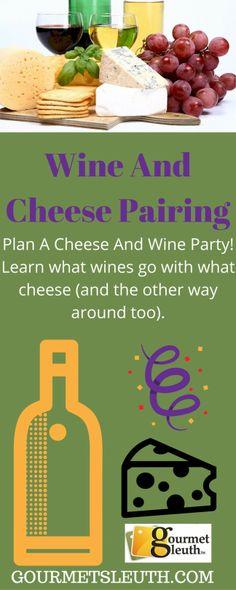Wine and cheese pair