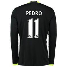 Chelsea Away Shirt 16-17 - Kids - Long Sleeve with Pedro 11 printing