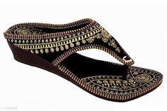 Flats Ethnic Women's Footwear Material:  Velvet UK/IND Size: IND - 3 IND - 4 IND - 5 IND - 6 IND - 7 IND - 8 Description: It Has 1 Pair Of Women's Footwear Country of Origin: India Sizes Available: IND-8, IND-3, IND-4, IND-5, IND-6, IND-7   Catalog Rating: ★4 (1484)  Catalog Name: Femme Ethnic Women's Footwear Vol 3 CatalogID_207358 C75-SC1071 Code: 891-1596032-994