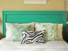 In need of a headboard and love this one