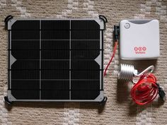 Simple Solar Kit for Tree House or Tiny Home? This solar panel is amazing