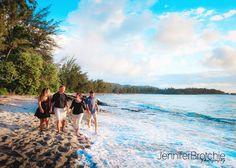 Oahu Family Photography, Turtle Bay Resort Photo Shoots, Disney Aulani Beach Photographer, Photographer near Waikiki, Oahu Family Photos on the Beach www.jenniferbrotchie.com