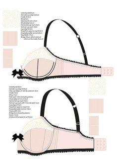 Judith Bell Lingerie Designer | Illustration & Technical drawings