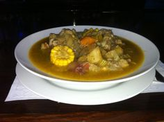 Our beloved Bahamian Style Okra Soup is prepared with a lot of locally grown vegetables. Fresh mutton and beef from the islands that will fill your belly at lunch time.
