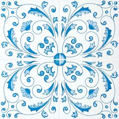 Ceramic wall tiles / flooring CLASSICO VIETRI CRESTARELLA AZZURRO Classico Vietri Collection By FRANCESCO DE MAIO
