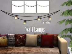 Sims 4 CC's - The Best: Wall Lamps by EnuresSims