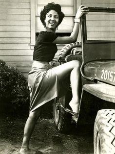 The beautiful Ms. Dorothy Dandridge