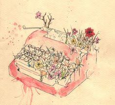 Que crezca un jardín silvestre a revueltas de todas tus palabras...