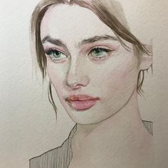 Watercolor Art By Reina Yamada | ARTWOONZ Artwoonz - Watercolor